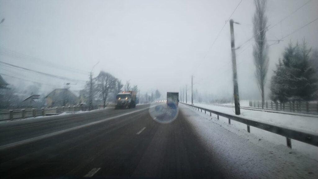 Cum se circulă pe drumurile naționale din județul Suceava