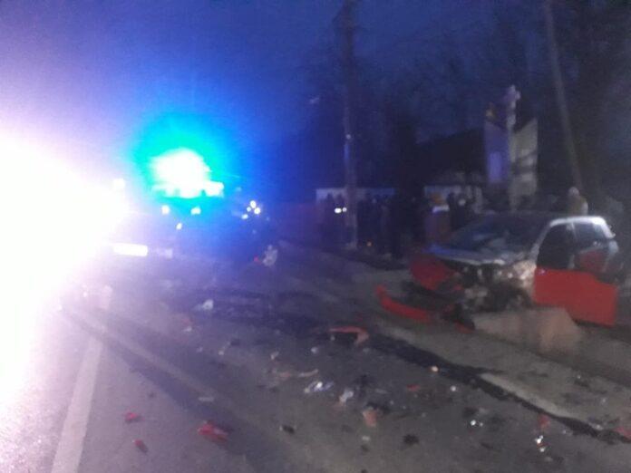 Accident rutier cu cinci victime pe raza orașului Salcea FOTO