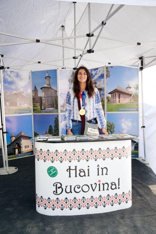 """Niculai Barbă: """"Ancuța Bodnar este o extraordinară ambasadoare a Bucovinei"""" FOTO"""