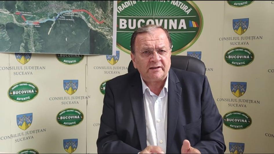 """Gheorghe Flutur: """"Ne dorim ca anul viitor să înceapă execuția lucrărilor la șoseaua de centură a orașului Gura Humorului"""""""
