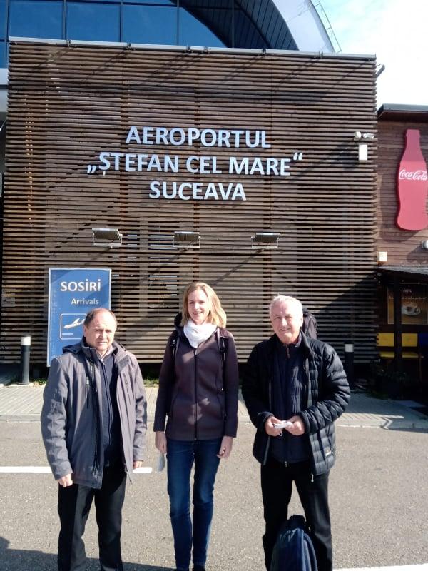 Fostul președinte al Consiliului Regional Schwaben în vizită în județul Suceava