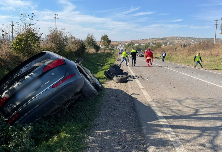 Accident rutier grav între Pătrăuți și Dărmănești. O persoană și-a pierdut viața FOTO