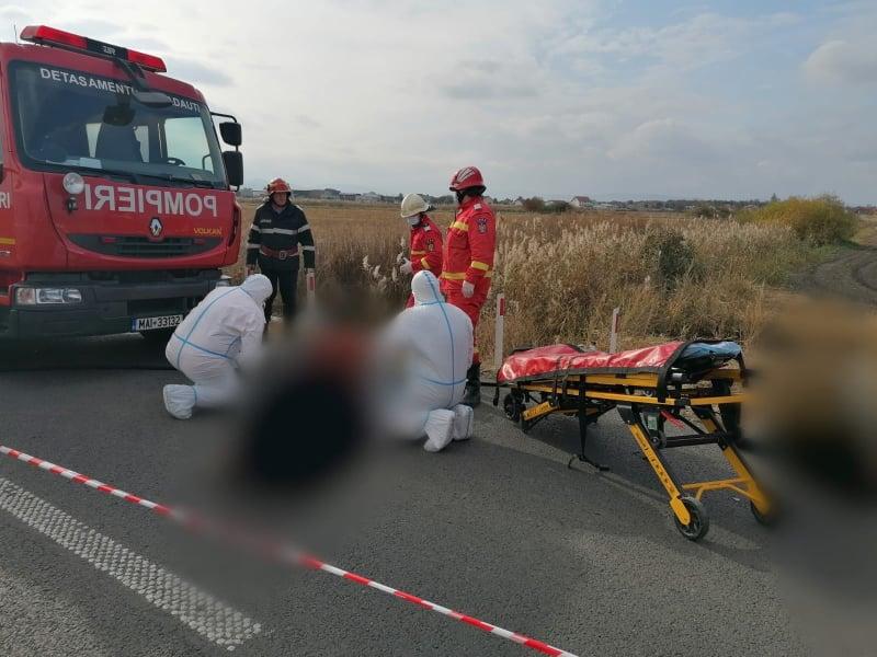 Accident rutier grav la Rădăuți. Trei persoane și-au pierdut viața și alta a fost grav rănită FOTO VIDEO