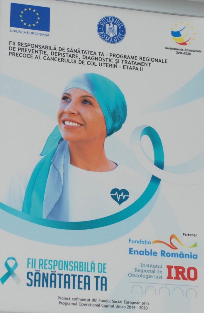 Două programe regionale de prevenire a cancerului de sân și col uterin în 12 județe din regiunile Nord Est și Sud Est