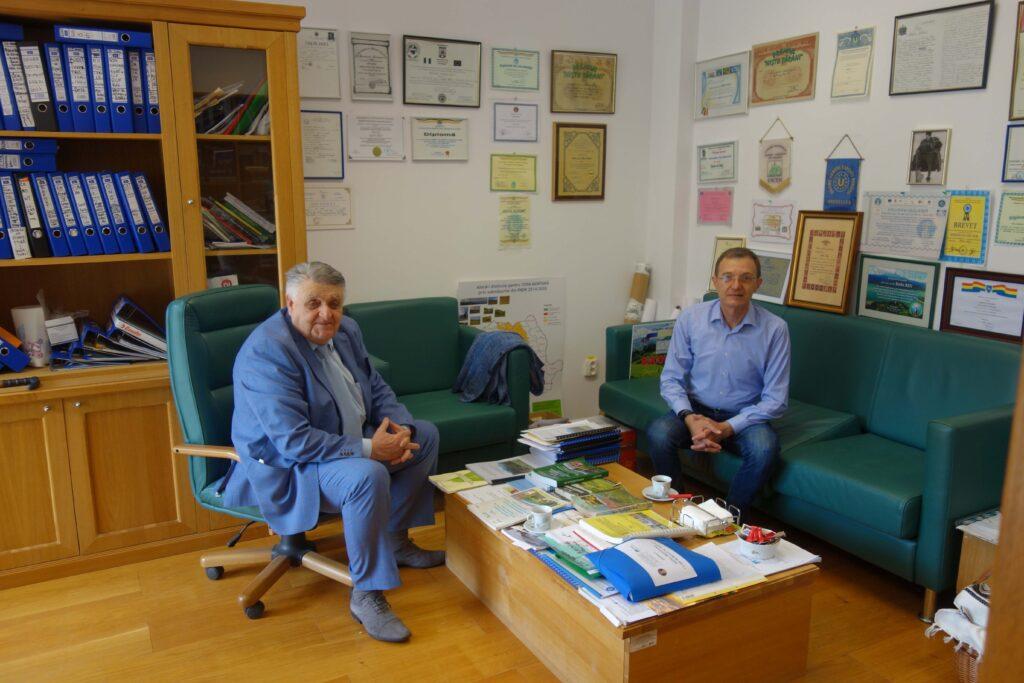 Președintele Academiei Române a vizitat Centrul de Economie Montană Ce-Mont din Vatra Dornei FOTO