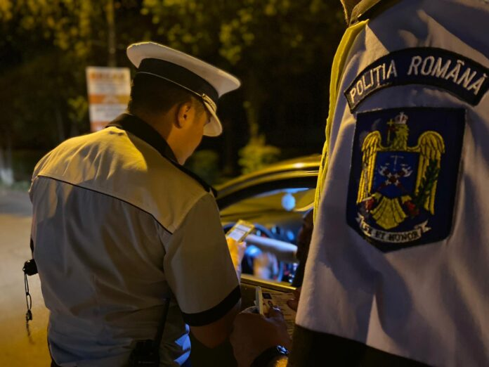 Razie desfășurată de polițiști pe raza municipiului Câmpulung Moldovenesc