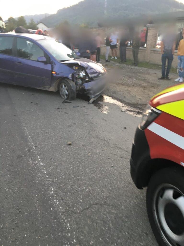 Accident rutier cu doi răniți pe raza localității Falcău FOTO