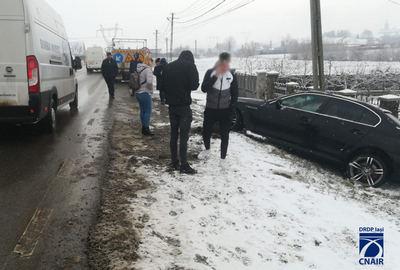 Accident rutier pe raza localității Cumpărătura FOTO