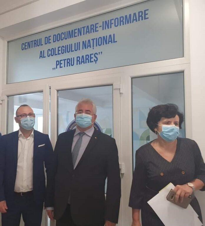 """Ion Lungu a semnat contractul în valoare de peste 6,2 milioane lei pentru construirea unui nou corp de clădire la Colegiul Național """"Petru Rareș"""""""
