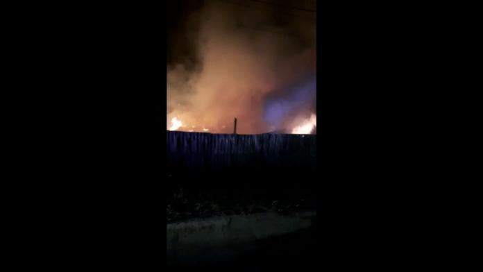 Incendiu violent la două gospodării din Costișa. Focul a fost pus intenționat VIDEO