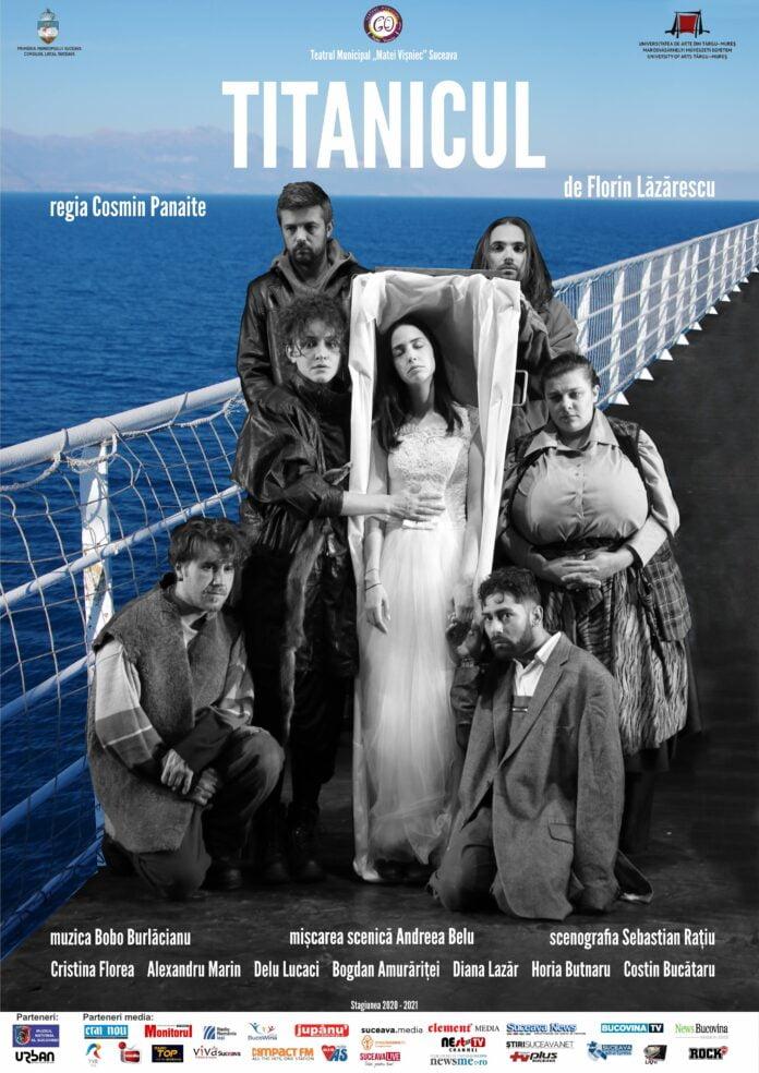 """Premiera spectacolului """"TITANICUL"""" va avea loc pe 12 iunie în curtea interioară a Hanului Domnesc Suceava"""