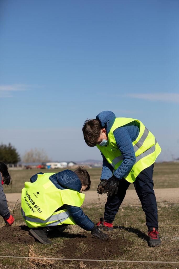 Fabrica de ambalaje UrsPack lansează Campania 1copacpean și plantează 50.000 de puieți în 2021