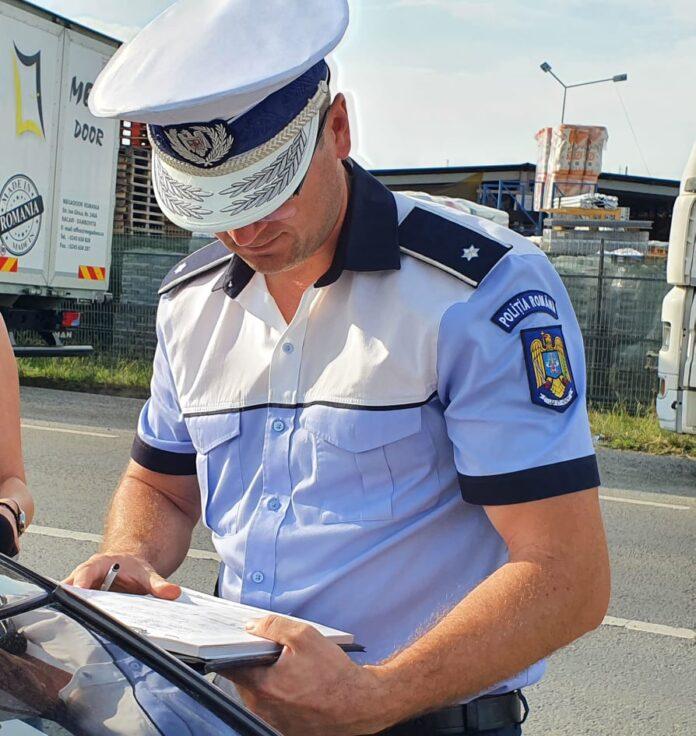 Amplă acţiune a polițiștilor rutieri din Botoșani, Suceava și Iași