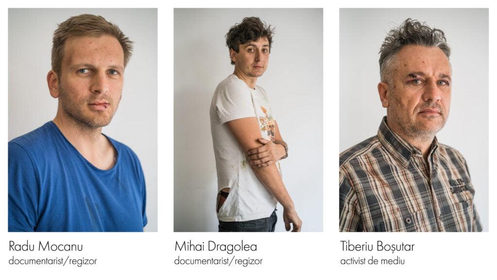 Patru persoane reținute de polițiști în cazul agresiunii celor doi jurnaliști și a activistului de mediu FOTO-VIDEO