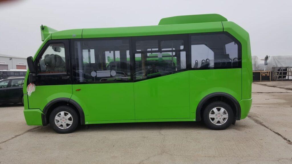 Încă șapte autobuze electrice de mici dimensiuni vor circula pe străzile din municipiul Suceava FOTO