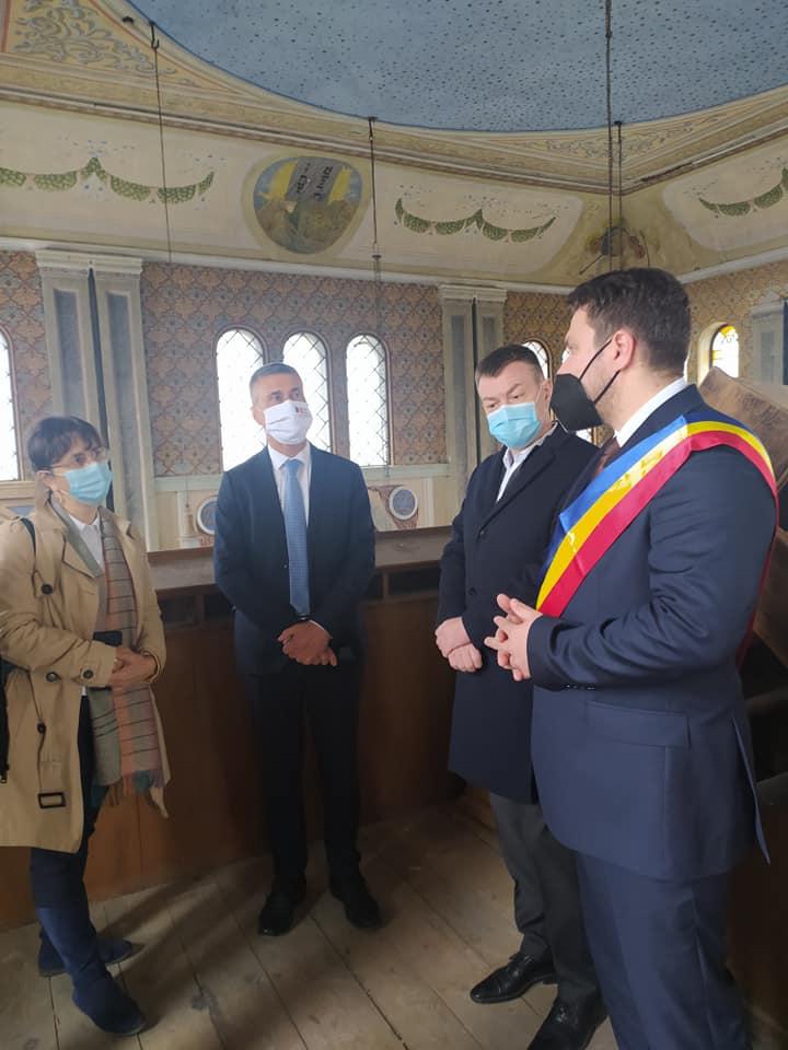 Bogdan Gheorghiu: Muzeul de Istorie din Siret va deveni după restaurare Memorialul Holocaustului din Bucovina FOTO