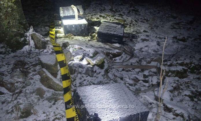 Țigări în valoare de peste 70.000 de lei confiscate de polițiștii de frontieră de la Brodina VIDEO