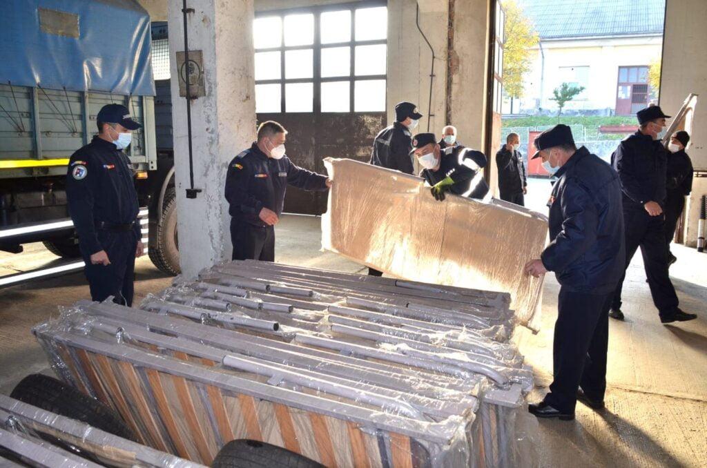 Primele containere pentru triajul pacienților Covid 19 au ajuns la Suceava VIDEO