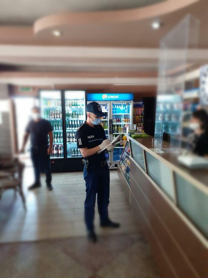 Administratorul unui restaurant din Vatra Dornei a fost amendat pentru nerespectarea măsurilor impuse în scenariul roșu