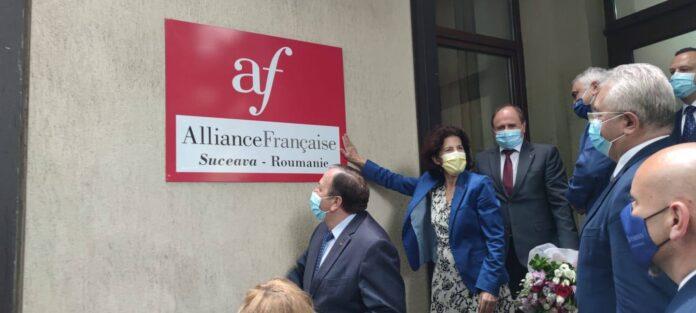 Înființarea Alianței Franceze la Suceava FOTO