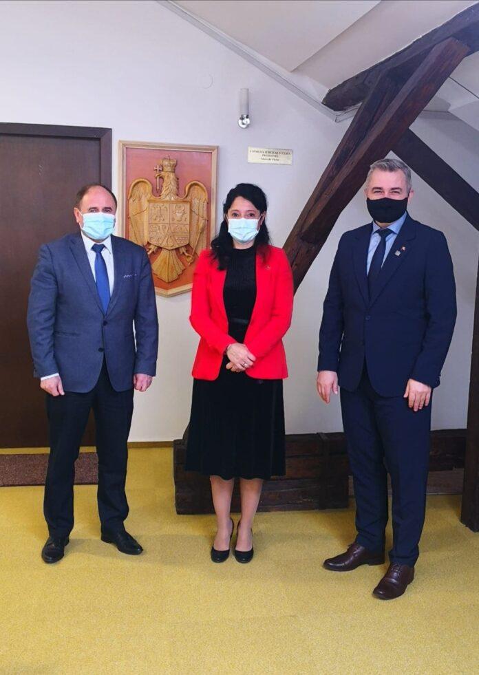 Secretarul de stat al Departamentului pentru Românii de Pretutindeni, discuții cu vicepreședintele CJ Suceava