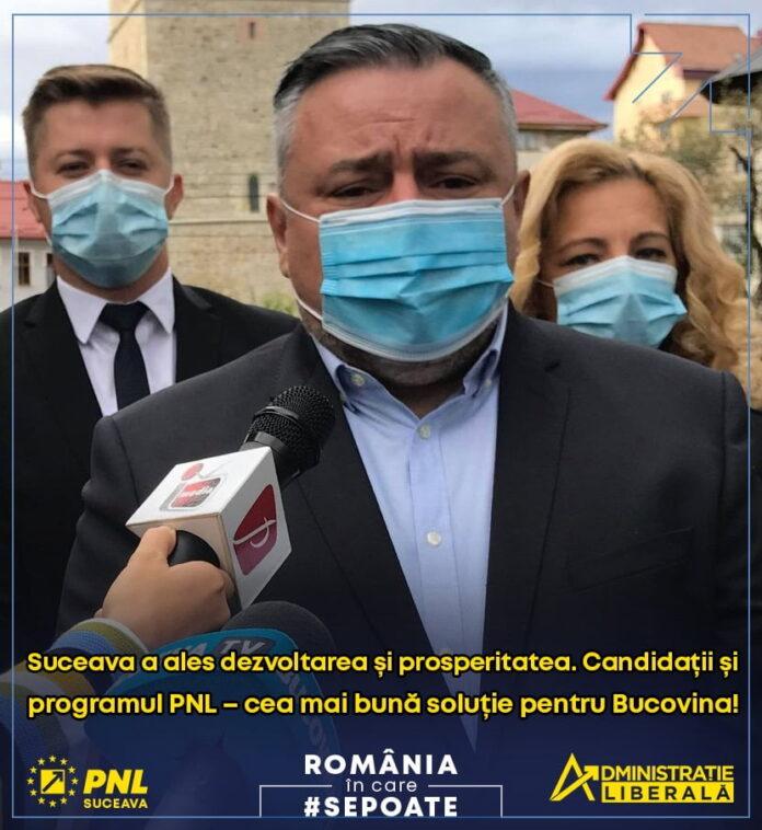 """Deputatul Ioan Balan:"""" Suceava  a ales dezvoltarea și prosperitatea. Candidații și programul PNL – cea mai bună soluție pentru Bucovina"""""""