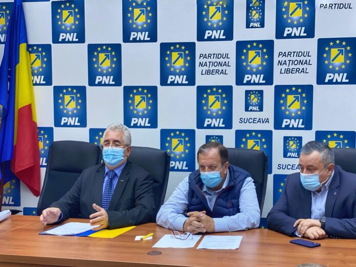 Ion Lungu a fost reales președintele Organizației Municipale PNL Suceava