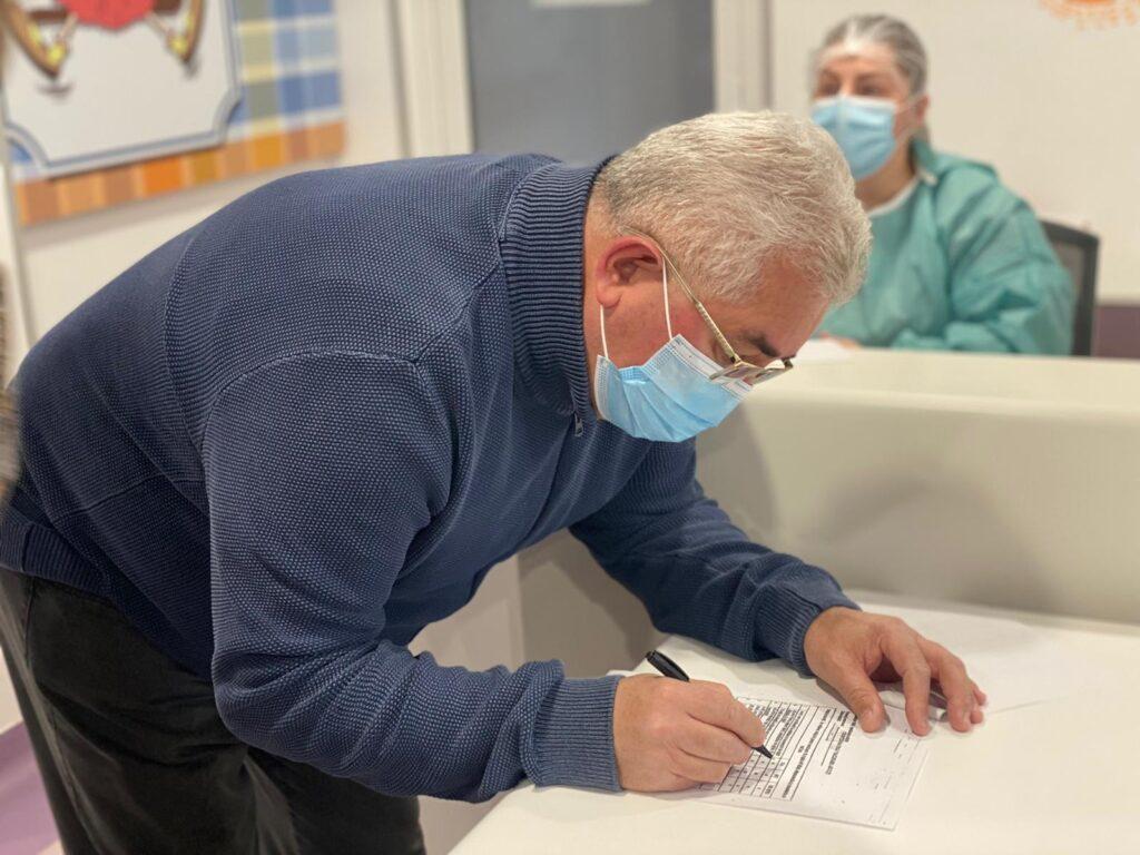 Primarul municipiului Suceava s-a vaccinat anti-Covid FOTO