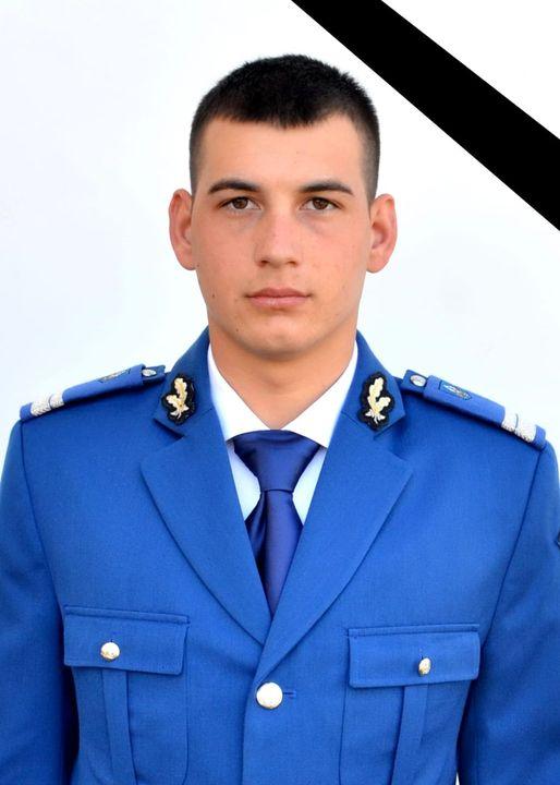 Moment de reculegere pentru Răzvan Mihalache, tânărul jandarm care a murit în accidentul de la Dolhești