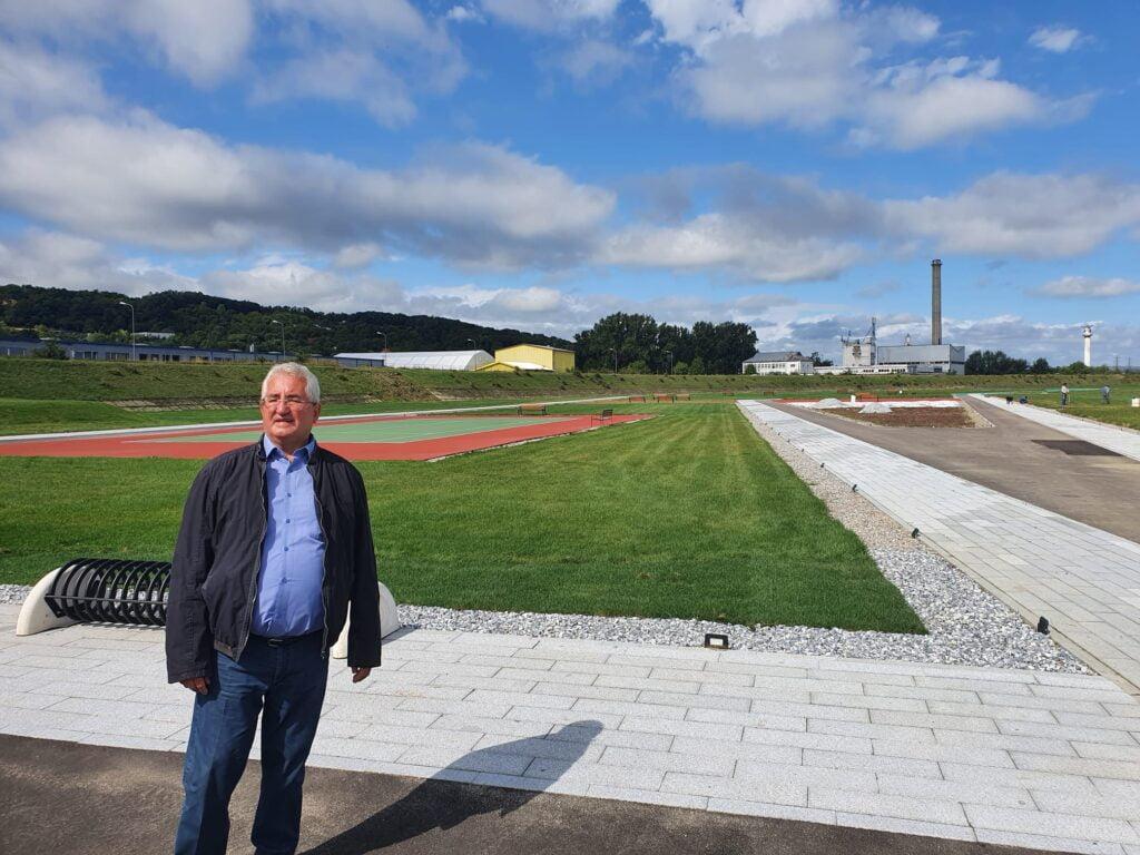 """Ion Lungu: """"Zona de Agrement de pe malul râului Suceava va fi dată în funcțiune până la sfârșitul lunii septembrie"""" FOTO"""