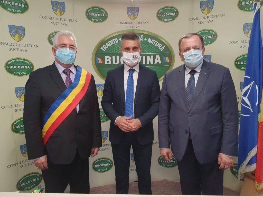 """Gheorghe Flutur: """"Sunt domenii în care județul Suceava poate atrage investiții, pentru a valorifica întregul potențial de care dispune"""""""