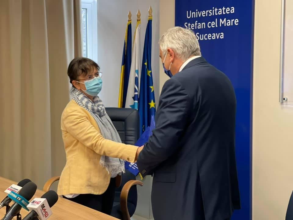 Protocol de colaborare între Institutul Național al Patrimoniului și Universitatea Suceava FOTO