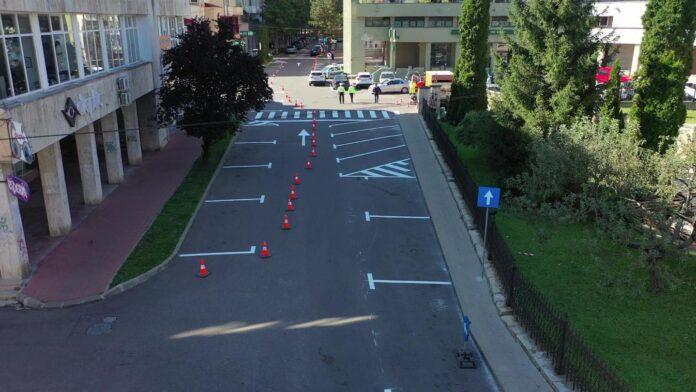 Noi reguli de circulație în centrul municipiului Suceava VIDEO