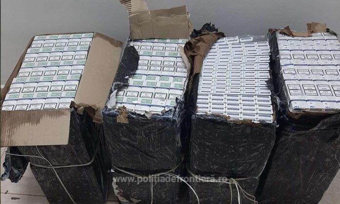 Țigări de contrabandă descoperite la pont, într-o gospodărie din Vicovu de Sus