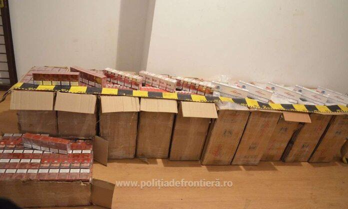 Focuri de armă la Brodina și Ulma pentru oprirea unor cărăuși de țigări FOTO